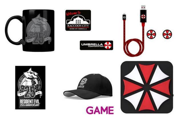 Merchandising de Resident Evil en GAME.