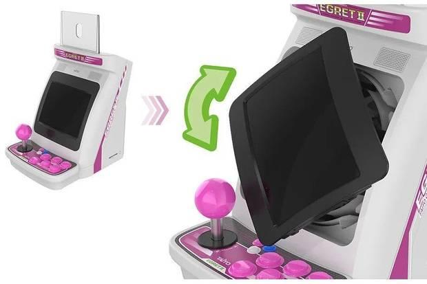 Taito presents the Egret II Mini, a miniature arcade with dozens of cl
