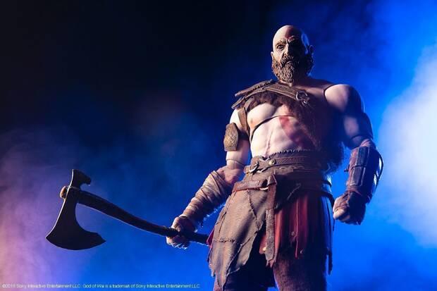 Mondo presenta su nueva figura de Kratos inspirada en el último God of War Imagen 2