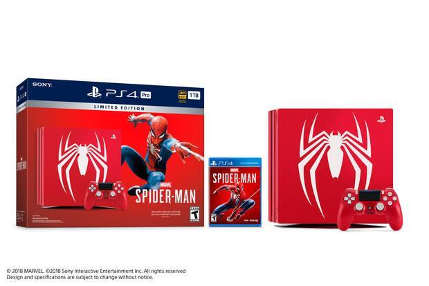 Anunciadas ediciones especiales de PS4 Pro y PS4 con Spider-Man Imagen 2