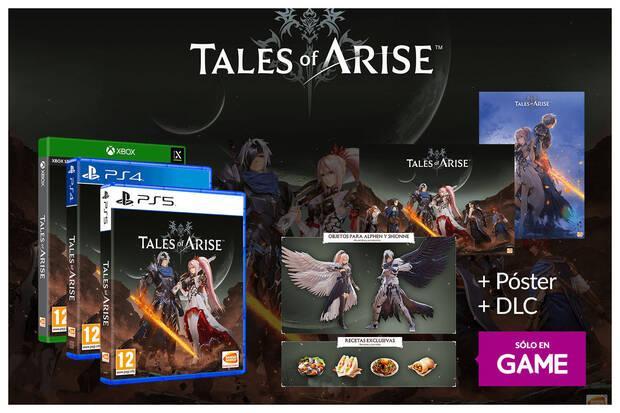 Tales of Arise pre-orders in GAME