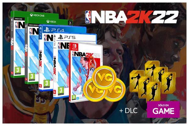 Ya puedes reservar NBA 2K22 en GAME con un DLC exclusivo de regalo en todas sus ediciones Imagen 2