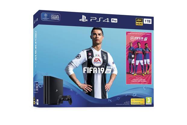 Sony anuncia nuevos packs de FIFA 19 más PlayStation 4 en sus dos modelos Imagen 2
