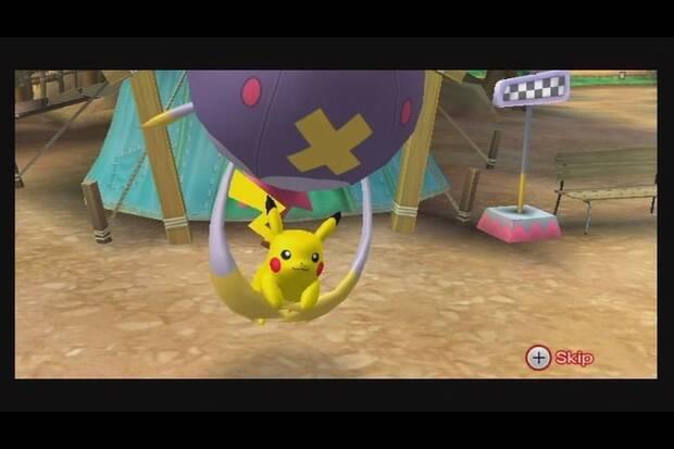 Verano de Pokémon: PokéPark Wii: La Gran Aventura de Pikachu Imagen 2