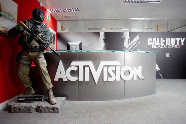 Oficina de Activision en Madrid.