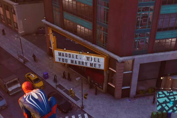 Una proposición de boda en Spider-Man se convierte en un triste 'easter egg' Imagen 2
