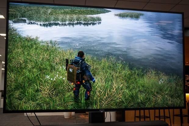 Death Stranding: Hideo Kojima nos muestra los paisajes helados del juego y su cielo Imagen 3