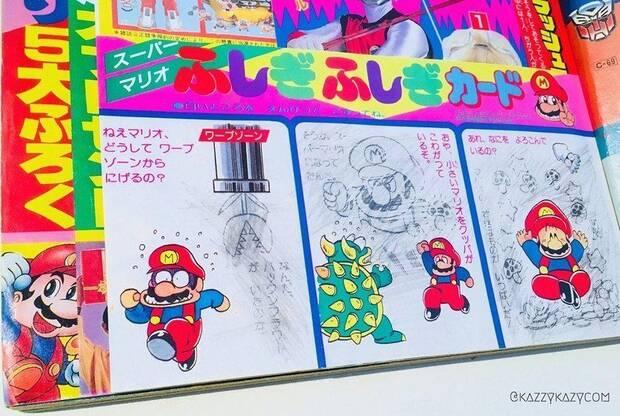 Surgen varios dibujos inéditos de Mario para una revista infantil de los 80 Imagen 3