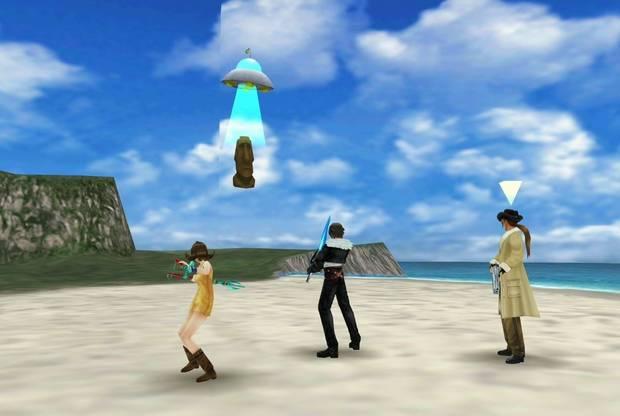 Final Fantasy VIII Remastered - OVNI