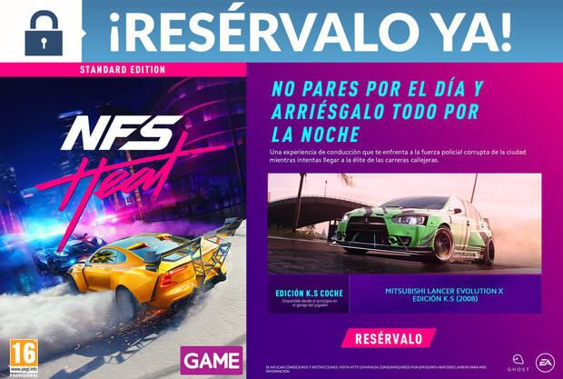 Game detalla sus incentivos por la reserva de Need for Speed Heat Imagen 2