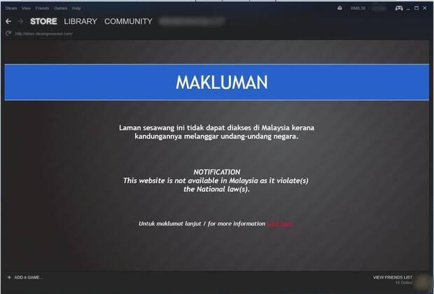 El gobierno malayo prohibe el acceso al videojuego 'Fight of Gods' y a Steam Imagen 2