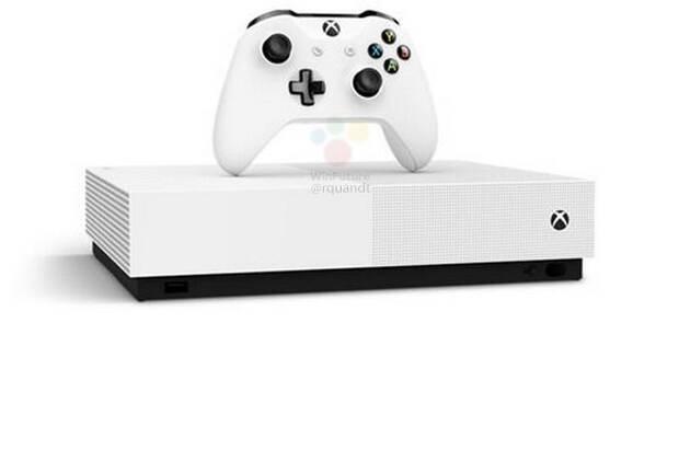 Se filtra Xbox One S All Digital, el modelo sin lector óptico por 229 euros Imagen 3