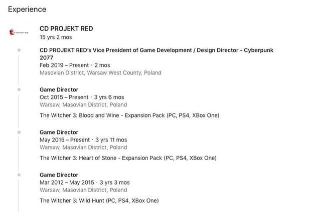 El director de The Witcher 3 es el nuevo director de diseño en Cyberpunk 2077 Imagen 2
