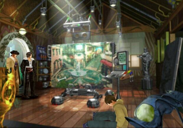 Final Fantasy VIII Remastered - El cuadro del artista en Dollet