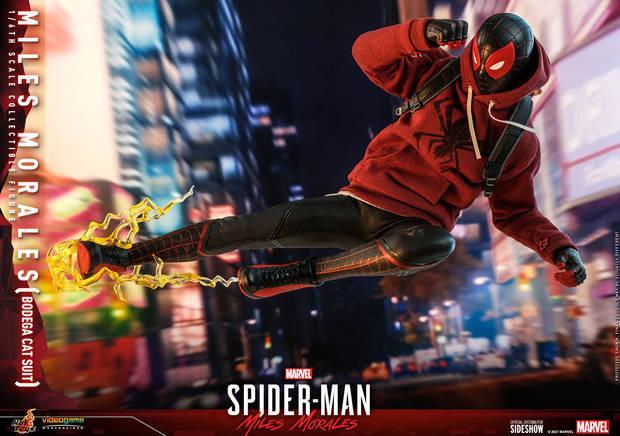 Una nueva figura de Spider-Man: Miles Morales nos muestra a Spider-Cat en acci
