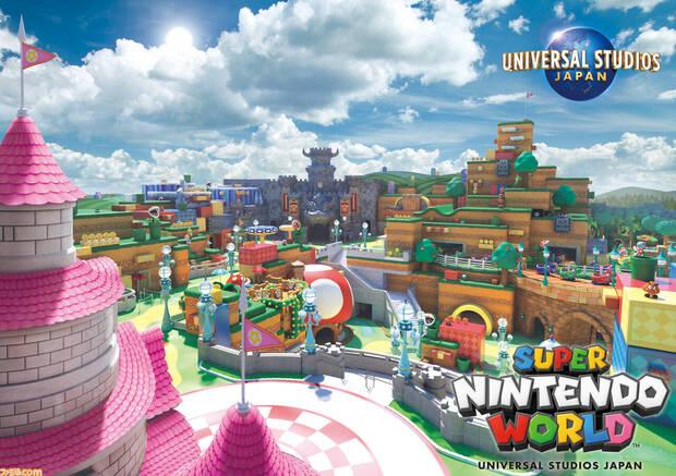 Super Nintendo World abre el 4 de febrero