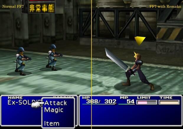 Final Fantasy VII remasterizado en PC gracias a este mod gratuito Imagen 3