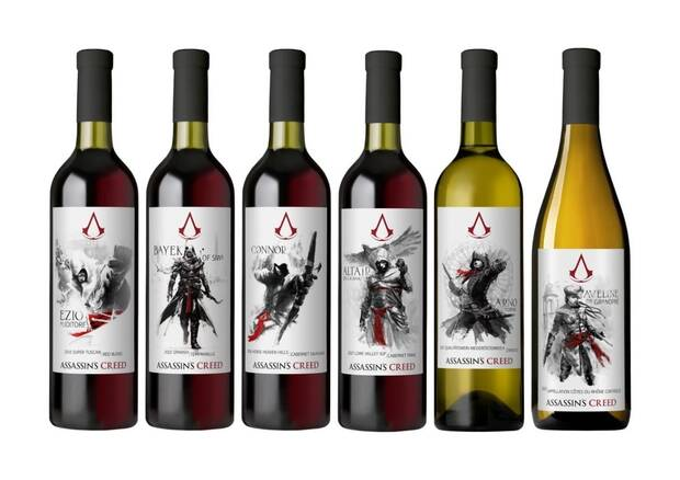 Así son los seis vinos inspirados en Assassin's Creed Imagen 2