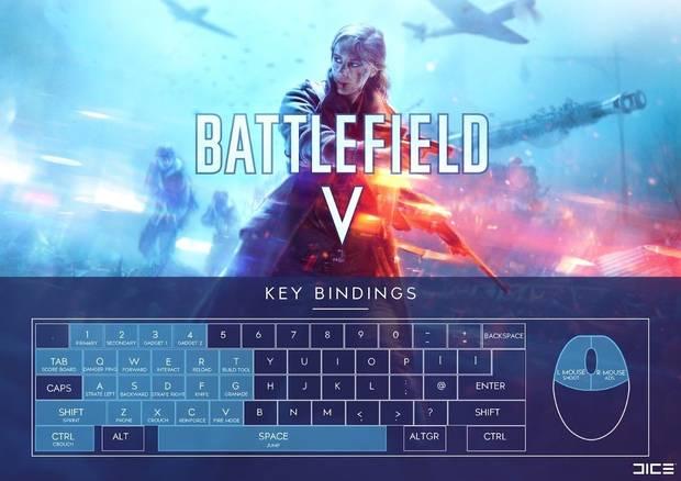 Battlefield 5 - Controles PC