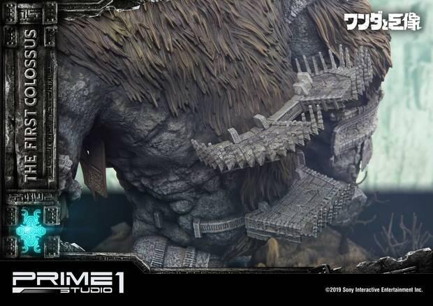 Así es la espectacular figura de 800 dólares del primer coloso de Shadow of the Colossus Imagen 5