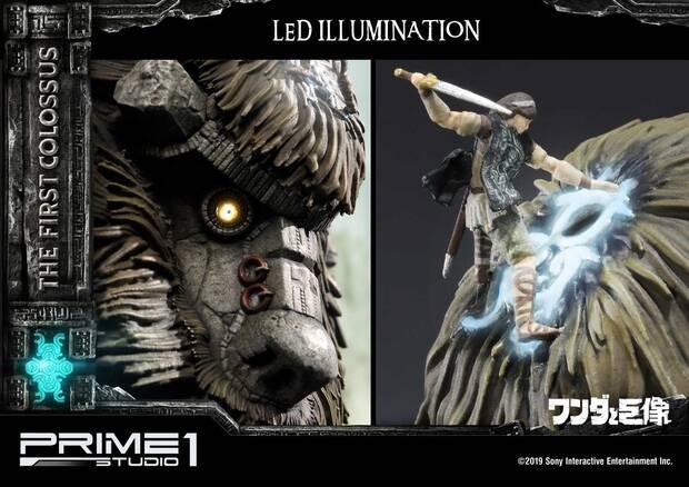 Así es la espectacular figura de 800 dólares del primer coloso de Shadow of the Colossus Imagen 4
