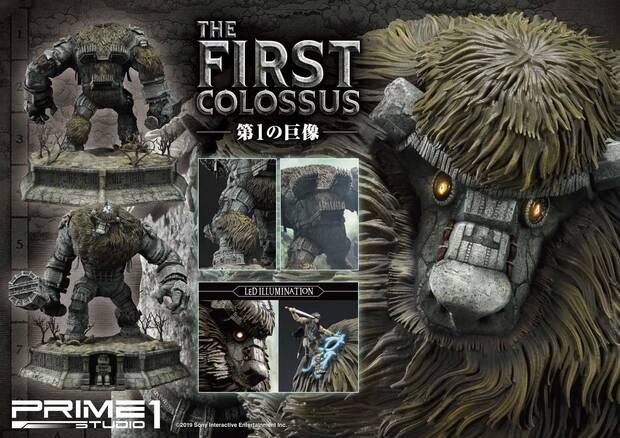 Así es la espectacular figura de 800 dólares del primer coloso de Shadow of the Colossus Imagen 2