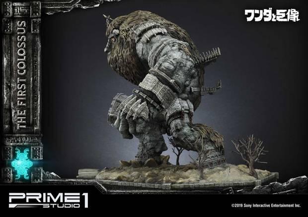 Así es la espectacular figura de 800 dólares del primer coloso de Shadow of the Colossus Imagen 7