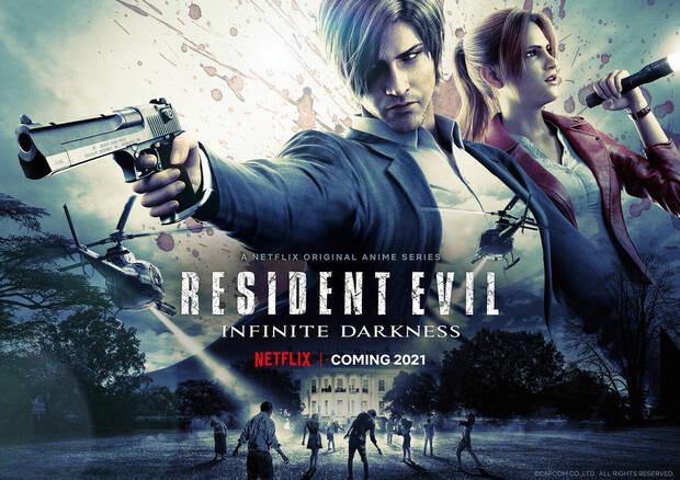 Resident Evil: Oscuridad infinita en Netflix