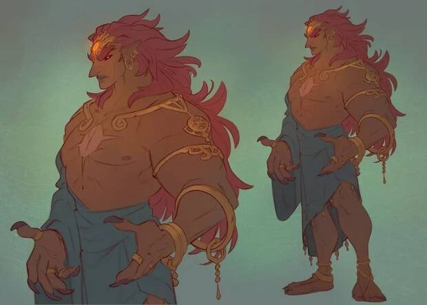 Imaginan el aspecto normal de Ganon en Zelda: Breath of the Wild Imagen 2