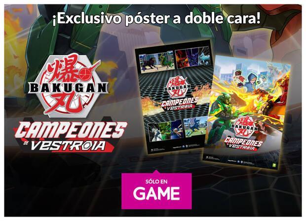 GAME detalla los incentivos por la reserva de Bakugan: Champions of Vestroia Imagen 2