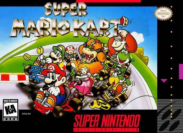 Super Mario Kart nació como un prototipo de F-Zero multijugador Imagen 3