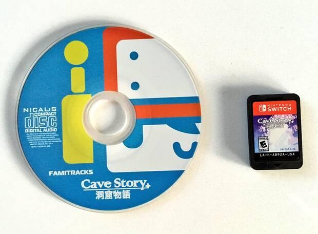 Así es la edición física de Cave Story+ para Nintendo Switch Imagen 6