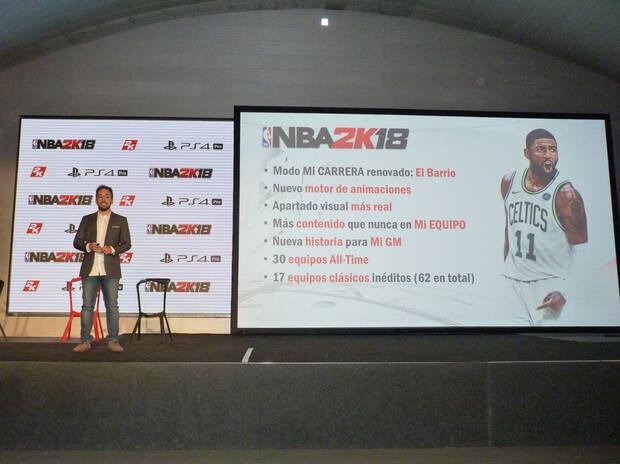 Crónica: 2K Games presenta en España NBA 2K18 Imagen 2