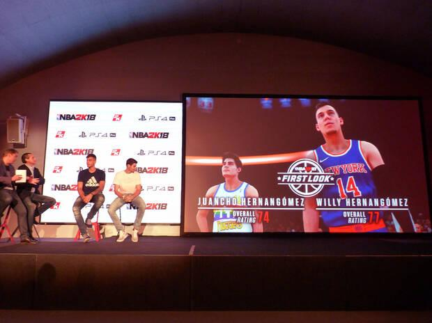 Crónica: 2K Games presenta en España NBA 2K18 Imagen 4