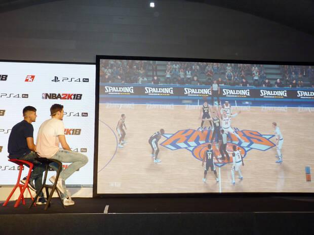 Crónica: 2K Games presenta en España NBA 2K18 Imagen 5