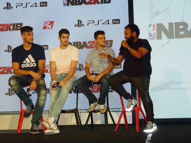 Crónica: 2K Games presenta en España NBA 2K18 Imagen 6