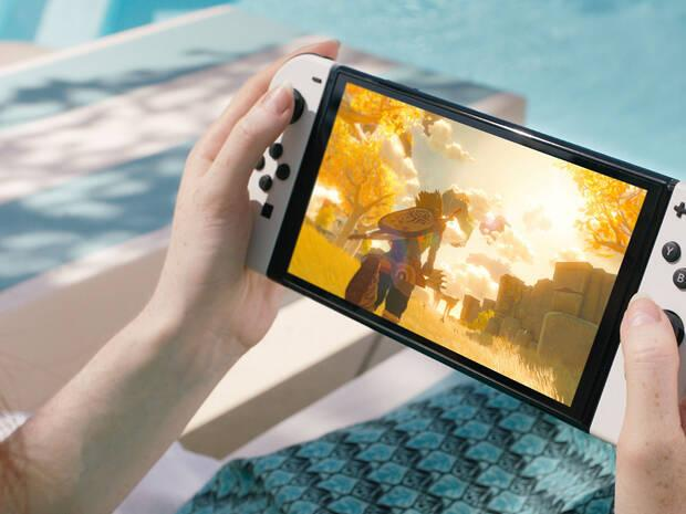 Nintendo Switch modelo OLED colores