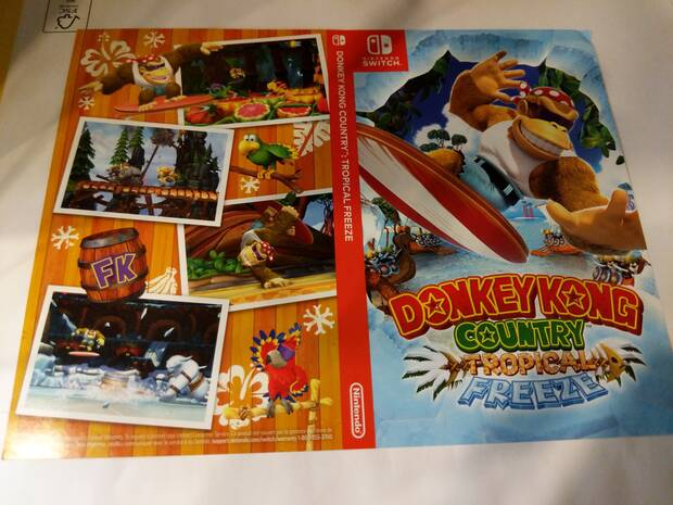 Donkey Kong Country: Tropical Freeze tiene portada reversible Imagen 2