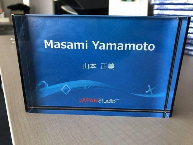 Placa de Masami Yamamoto en Japan Studio.