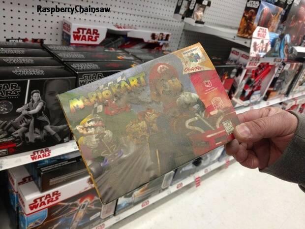 Descubren una caja de Mario Kart 64 oculta durante años en un Toys R US Imagen 2