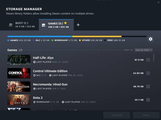 Steam actualizaci