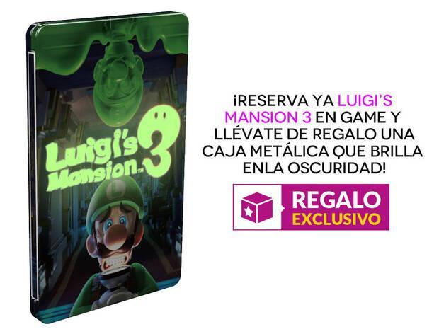 GAME detalla sus incentivos de reserva para Luigi's Mansion 3 Imagen 2