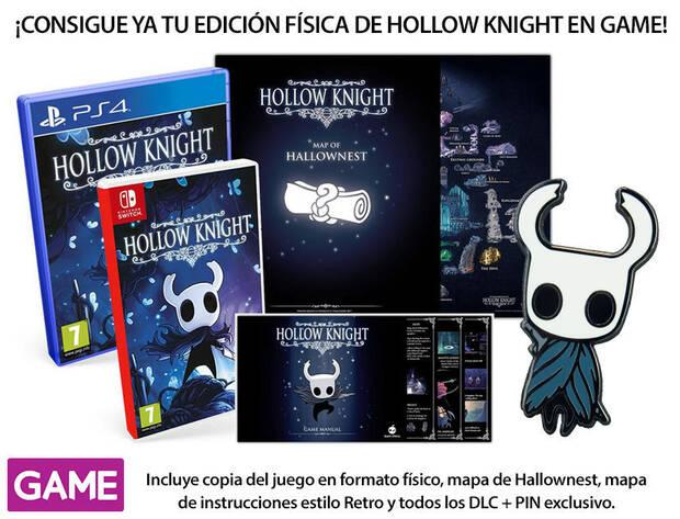GAME detalla su incentivo por reserva para la edición física de Hollow Knight Imagen 2