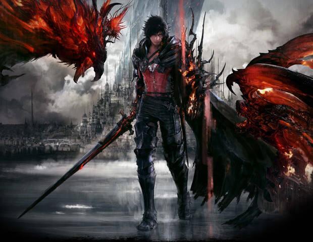 Imagen del protagonista de Final Fantasy XVI.