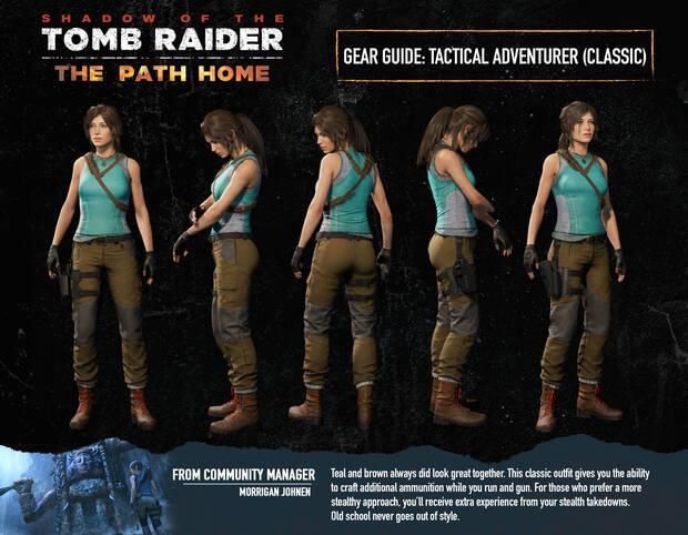 Shadow of the Tomb Raider sigue sin el atuendo clásico de Lara Croft Imagen 2