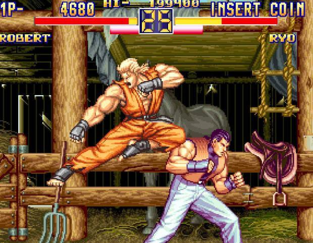 NeoGeo Art of Fighting 2 Imagen 1