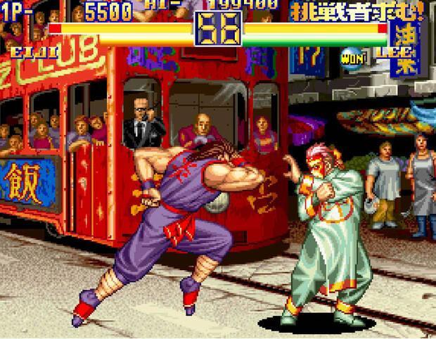 NeoGeo Art of Fighting 2 Imagen 2