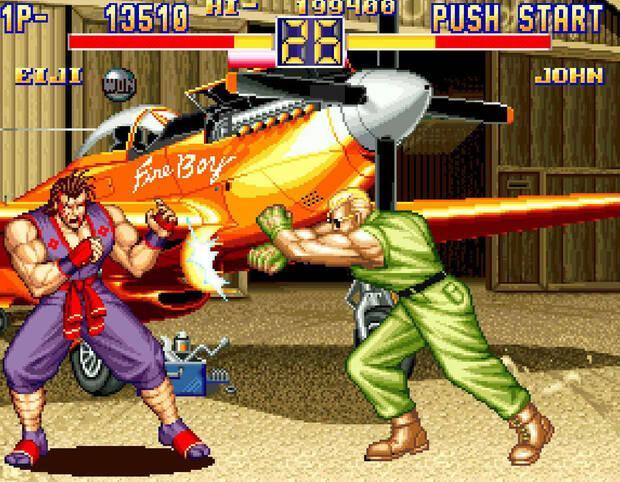 NeoGeo Art of Fighting 2 Imagen 3