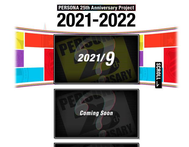 Anniversary person announcements in 2021 and 2022.