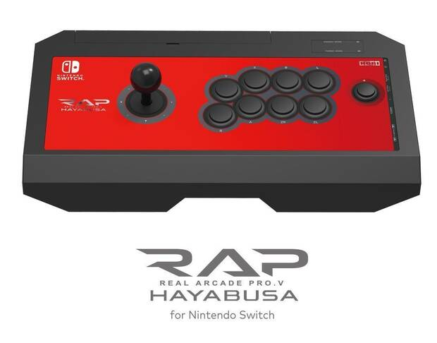 Hori lanzará en EE.UU. su mando arcade para Nintendo Switch Imagen 2